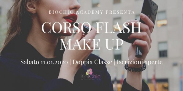 Corso Flash Make Up | Special focus trucco pronto in 15 minuti
