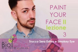 Paint Your Face II - Lezione 3