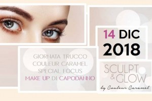 Couleur Caramel day | special focus Make up di Capodanno
