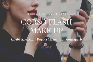 Flash Make Up | Special focus trucco pronto in 15 minuti