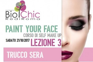 Paint Your Face - Lezione 3