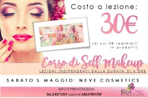 Corsi di Self Makeup - Neve Cosmetics