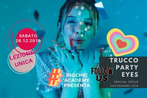 Corso Trucco Party Eyes | Special focus make up Capodanno 2020
