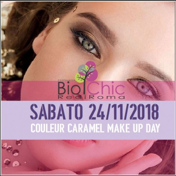 Couleur Caramel make up day