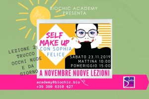 Self Make Up con Sophia Felice